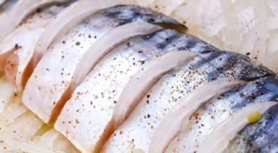 Рецепт соленой скумбрии
