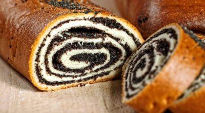 Рулет с маком или орехами – лучший рецепт домашней выпечки