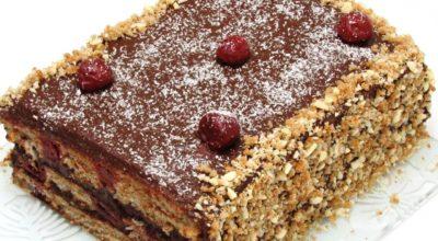 Шикарный постный торт «Каприз». И покупать больше не будете