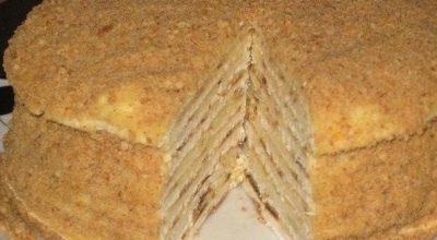 Торт «Hа скорую руку»