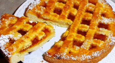 Вкусный и быстрый пирог с вареньем: изумительное рассыпчатое тесто