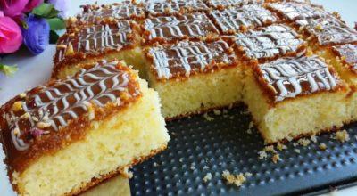 Я просто влюбилась в этот пирог. Нежный и вкусный манник