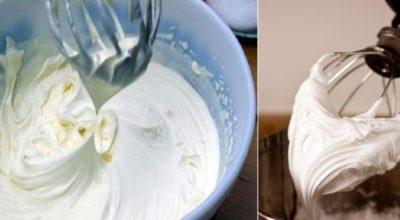 Зефирный крем только из двух продуктов
