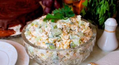 Салат «Фазан» с курицей — вкусный, сытный и освежающий