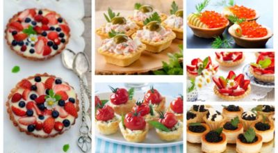 25 вкуснейших способа наполнить тарталетки к празднику