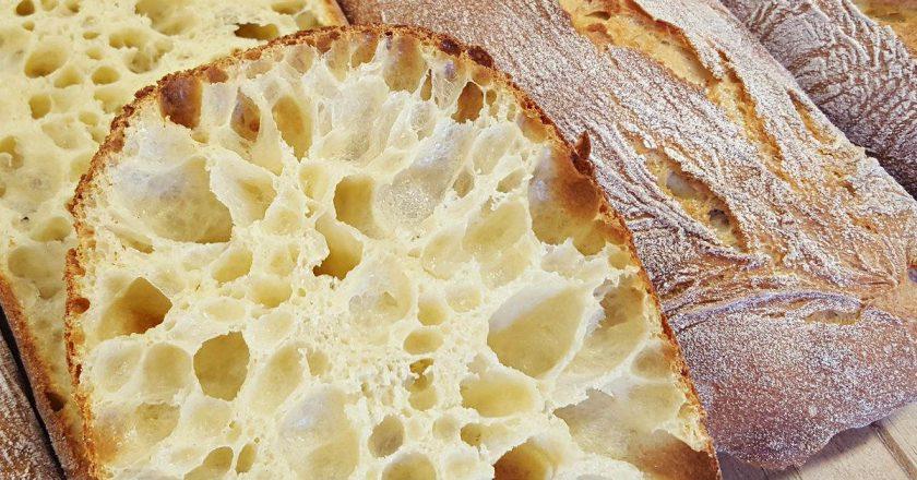 Хлеб с дырками: как готовить чиабату