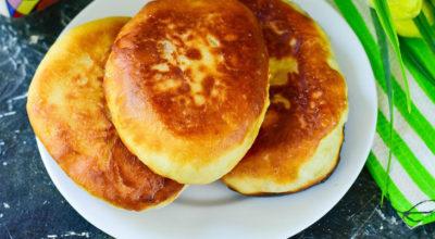 Пирожки с абрикосами на сковороде — мягкие и воздушные