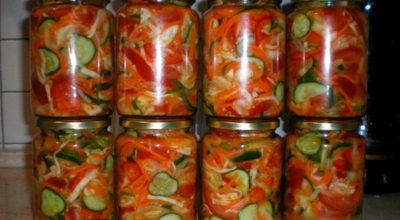 Вкусный салат на зиму «На закусочку»