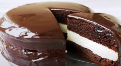 Рецепт подсмотрела в заграничном журнале. Вкусный торт «Kinder Pingui»