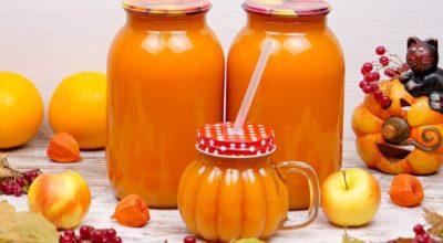 Тыквенно-яблочный нектар с апельсинами. Рецепт тыквенного сока с мякотью на зиму без соковыжималки