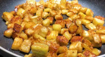 Вкусное блюдо из баклажанов. Удивите свою семью особым вкусом салата