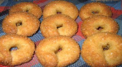 Итальянское домашнее сахарное печенье. Вкусная выпечка к чаю