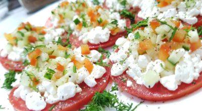 Мега рецепт, закуска из помидор. Вкусно и красиво