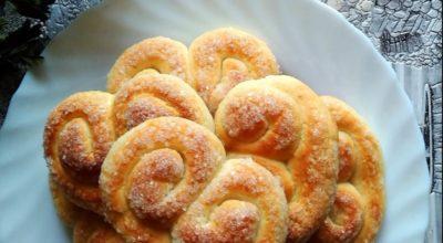Печенье «Кральки» из творога. Быстро съедается, быстро готовится