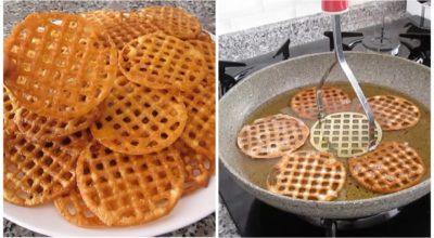 Рецепт хрустящего и вкусного десерта, который готовится при помощи картофельной толкушки