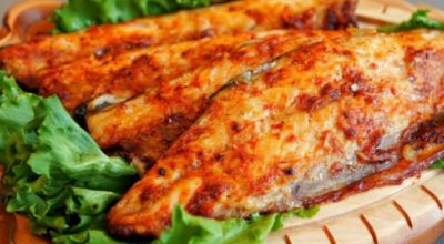Рыбу готовлю только так, никакой жарки и варки. Без костей нежнейшая скумбрия