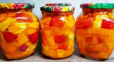 Съели банку за раз. Сочное нектариновое манго из тыквы на зиму