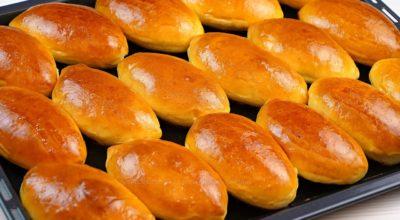 Сладкие пирожки в духовке. Печеные пирожки с яблочным повидлом