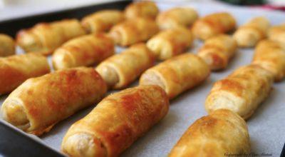 Вкусней чем пирожки. Мягкие и нежные трубочки с мясом