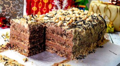Вкуснейший торт без муки «Шоколадный пломбир» с насыщенным шоколадным вкусом. По вкусу как мороженое