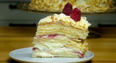 Как приготовить торт «Наполеон» дома, даже если у вас совсем нет опыта