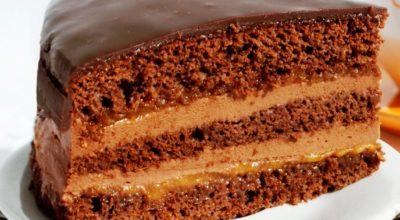 Легко и быстро. Готовим домашний вкусный тортик «Пражский»
