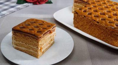 Мягкий и ароматный. Нежнейший торт «Карамельная Девочка»