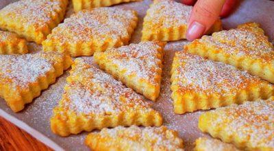 Обалденное печенье за 10 минут + выпечка. Мягкое и очень вкусное