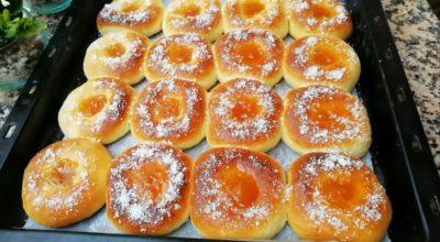 Пончики в духовке с вареньем. Мой любимый рецепт
