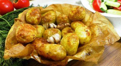 Простая еда – вкусная еда. Картошка всегда с хрустящей корочкой