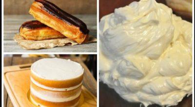 Шикарный масляный крем для эклеров и тортов