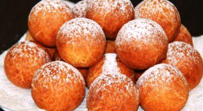 Творожные пончики: лакомство родом из детства