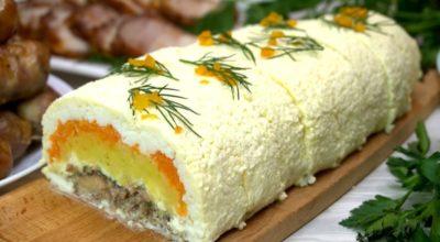 Всеми обожаемый салат еще с советских времен. Не стареет, а наоборот, набирает популярности