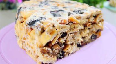 Быстрые торты без выпекания — еще один вкусный вариант