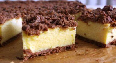 Королевский сырник: нежная начинка и вкусное шоколадное тесто