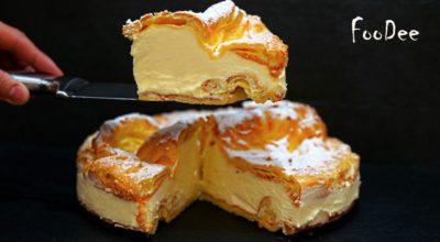 Нереально вкусный торт Карпатка с заварным кремом