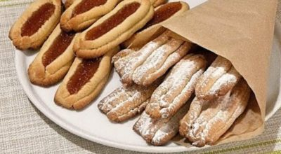 Печенье через мясорубку «Спаржа»