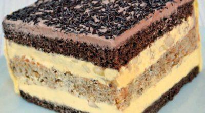 Торт «Огни Парижа»