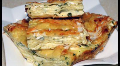 Банальный лаваш, а какая вкуснятина. Простой и быстрый сырный пирог из лаваша