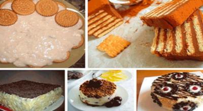 Легкие торты из печенья без выпечки. 5 отличных рецептов
