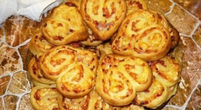 Оригинальное печенье-закуска с мясом. На вид и вкус просто потрясающее