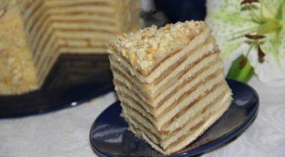 Торт «Kрепвиль», самый вкусный в мире