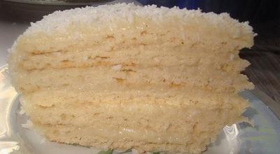 Торт «Рафаэлло». Мягкий и очень вкусный