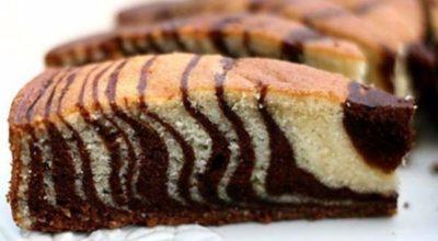 Знаменитый пирог «Зебра»
