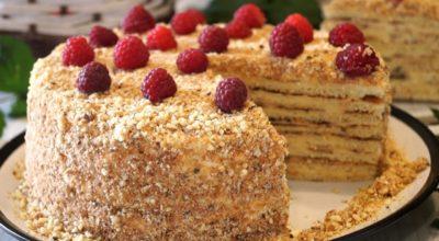 Бесподобно вкусный тортик без духовки. Потрясающе нежный и очень вкусный