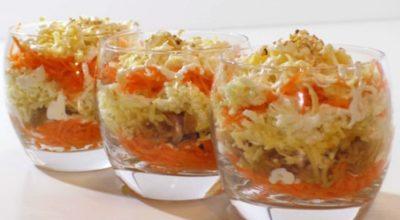 Нежный французский салат