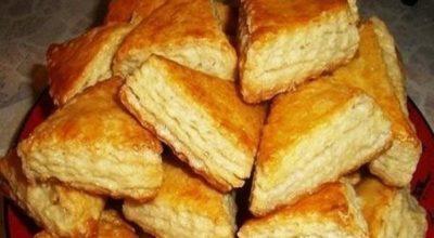 Печенье на кефире, от которого гостей не оттянуть