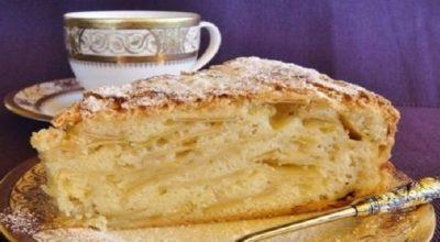 Шарлатанка — вкуснейший яблочный пирог
