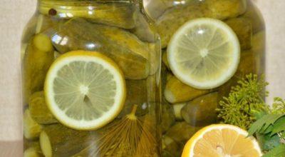 Безумно вкусные огурчики «Пражские» на зиму