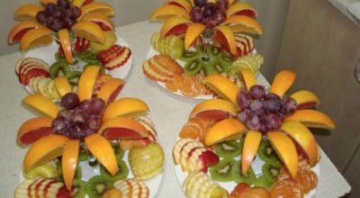 Идеальные варианты подачи фруктов на праздничный стол
